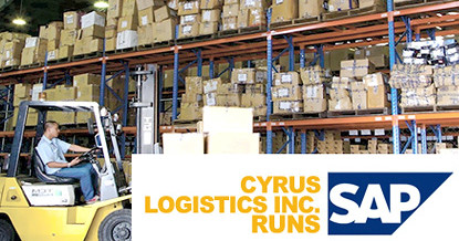Cyrus Logistics Inc. enhances business operations with SAP Business One