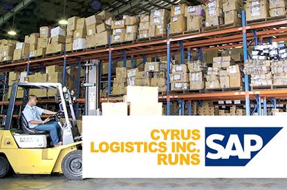 Cyrus Logistics Inc. enhances business operations with SAP Business One