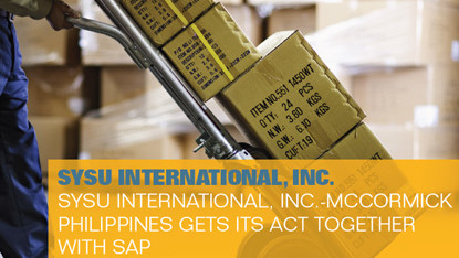 SYSU International, Inc. – McCormick Philippines gets its act together with SAP