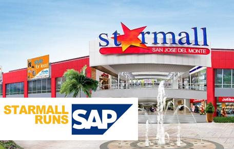 Starmall Inc. runs SAP