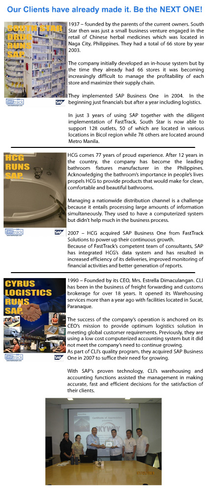 companies using sap