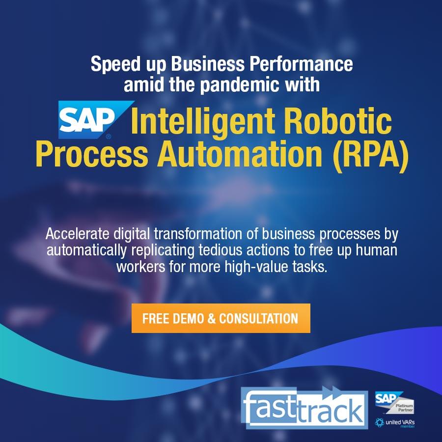 SAP Intelligent Robotic Process Automation