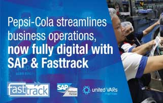 Pepsi-Cola streamlines business operations, now fully digital with SAP & Fasttrack