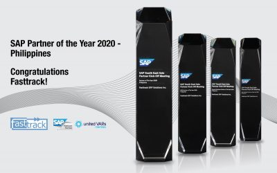 Fasttrack is SAP PH Partner of the Year for the second year in a row